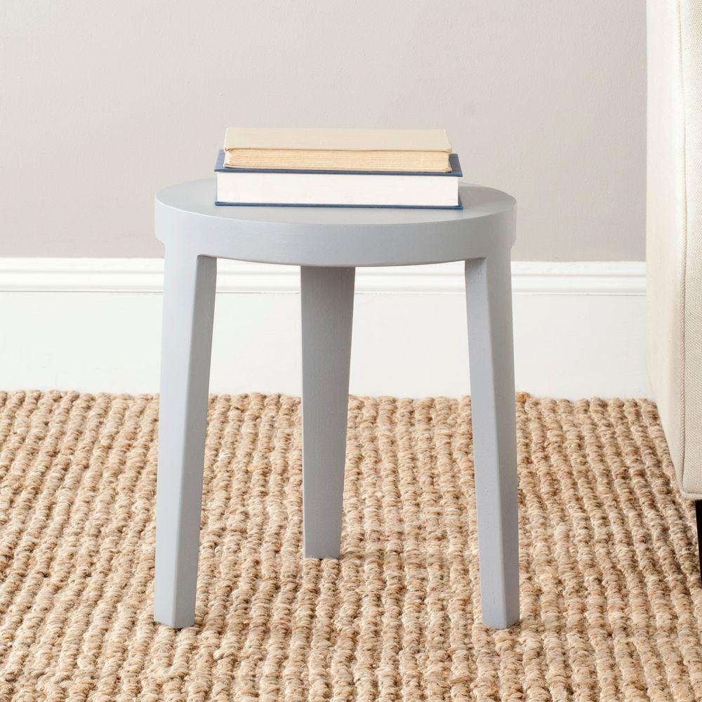 Safavieh Wilma Pearl Blue Gray Side Table