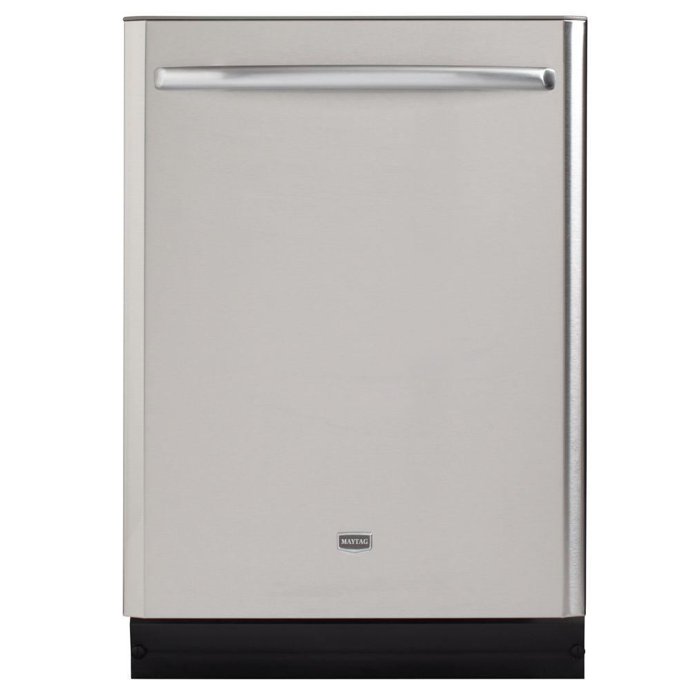 Maytag JetClean Plus Top Control Dishwasher in Stainless Steel with Stainless Steel Tub and Steam Cleaning-DISCONTINUED