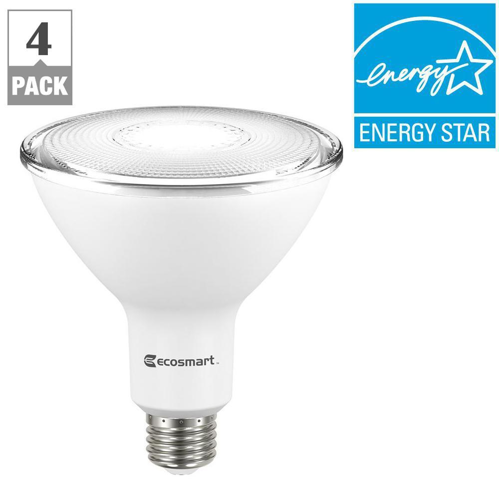 90W Equivalent Daylight PAR38 Dimmable LED Flood Light Bulb (4-Pack)