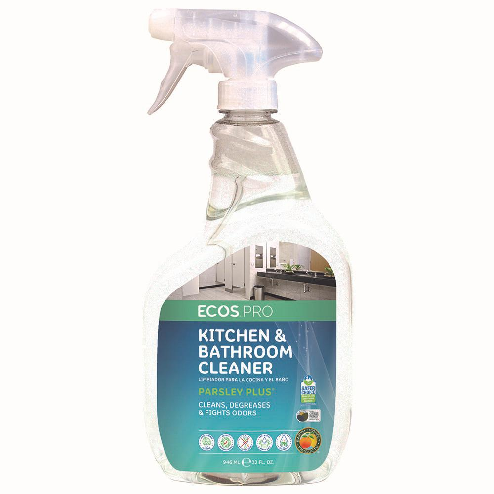 ECOS Pro 32 oz. Trigger Spray Parsley Plus All-Purpose Kitchen-Bathroom Cleaner