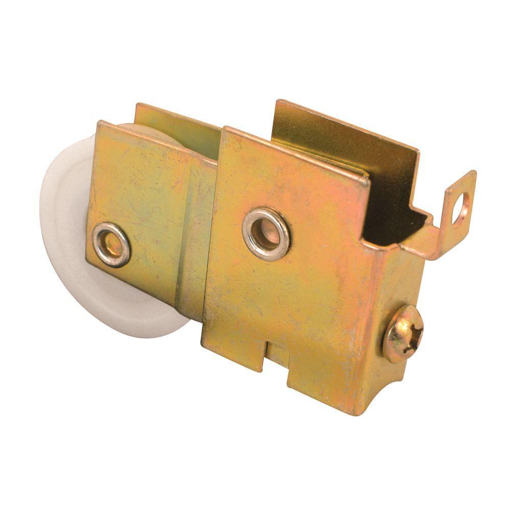 Prime-Line Sliding Door Roller Assembly, 1-1/4 in. Nylon Ball Bearing, 11/16 in. x 1-5/8 in. Housing