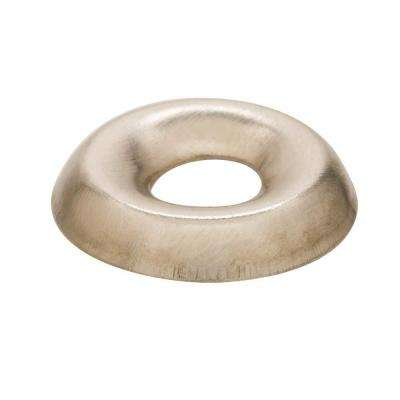 #8 Nickel Plated Finishing Washer (100 per Pack)