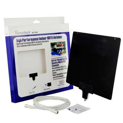 Homeworx High Performance Ultra-Thin Indoor HDTV Antenna