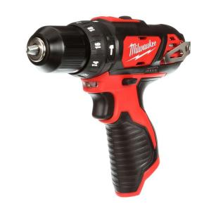 Milwaukee M12 12-Volt Lithium-Ion Cordless 3/8 inch Hammer Drill/Driver (Tool-Only) by Milwaukee