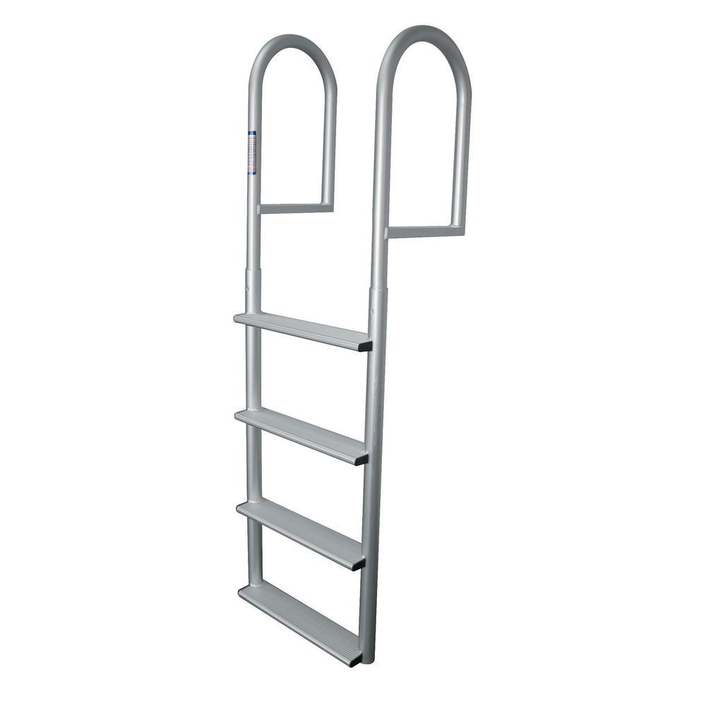 4- Step Wide Rung Aluminum Dock Ladder