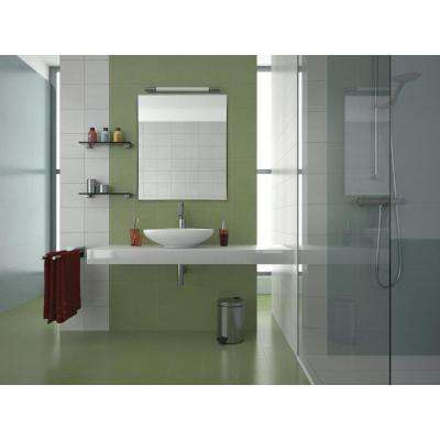 Rectangular Nickel Aluminum Vanity Wall Mirror