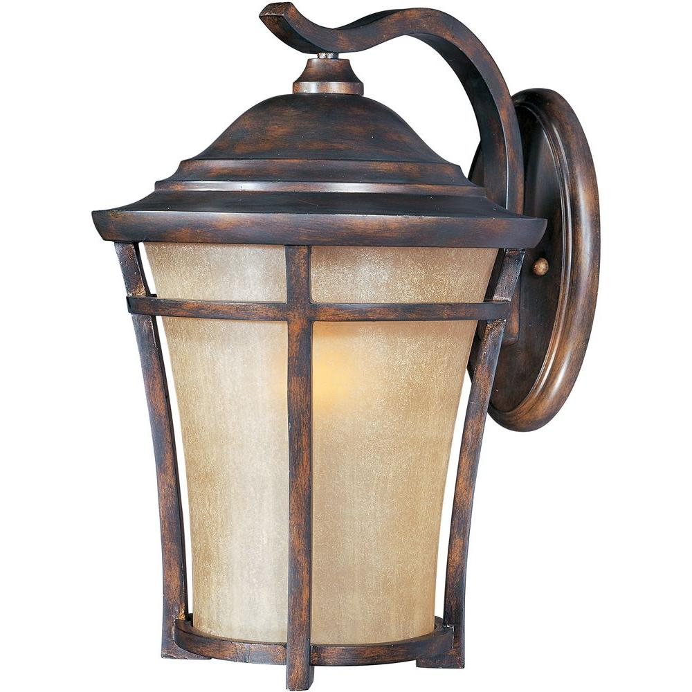 Copper bronze outdoor wall mounted lighting outdoor lighting balboa vivex energy efficient 1 light copper oxide outdoor wall mount arubaitofo Choice Image