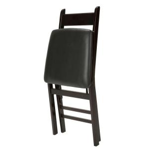 Tremendous Cosco Woodcrest Brown Folding Chair Set Of 2 37273Esp2E Alphanode Cool Chair Designs And Ideas Alphanodeonline
