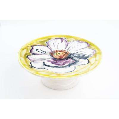 Fiori Camellia Serving Plate on Stand