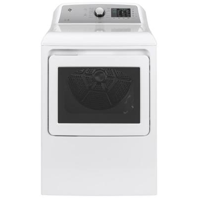 7.4 cu. ft. 120-Volt White Gas Vented Dryer with Sanitize Cycle, ENERGY STAR