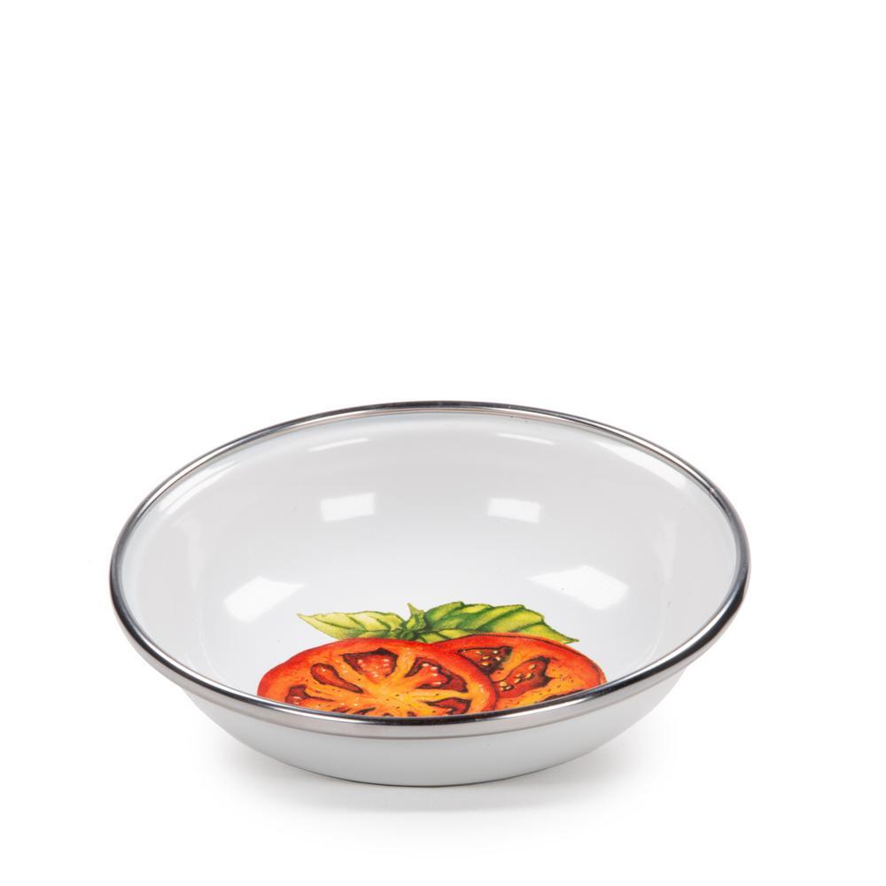 4 oz. Tomatoes Enamelware Tasting Dish