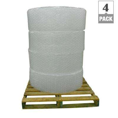 1/2 in. x 12 in. x 250 ft. PRO Perforated Bubble Cushion Wrap (4-Pack)