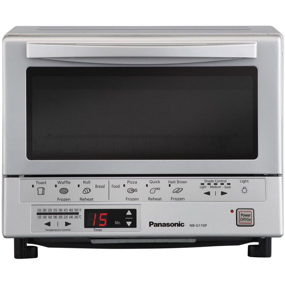 Panasonic FlashXpress Silver Toaster Oven