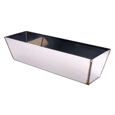 12 in. Stainless Steel Round Bottom Mud Pan