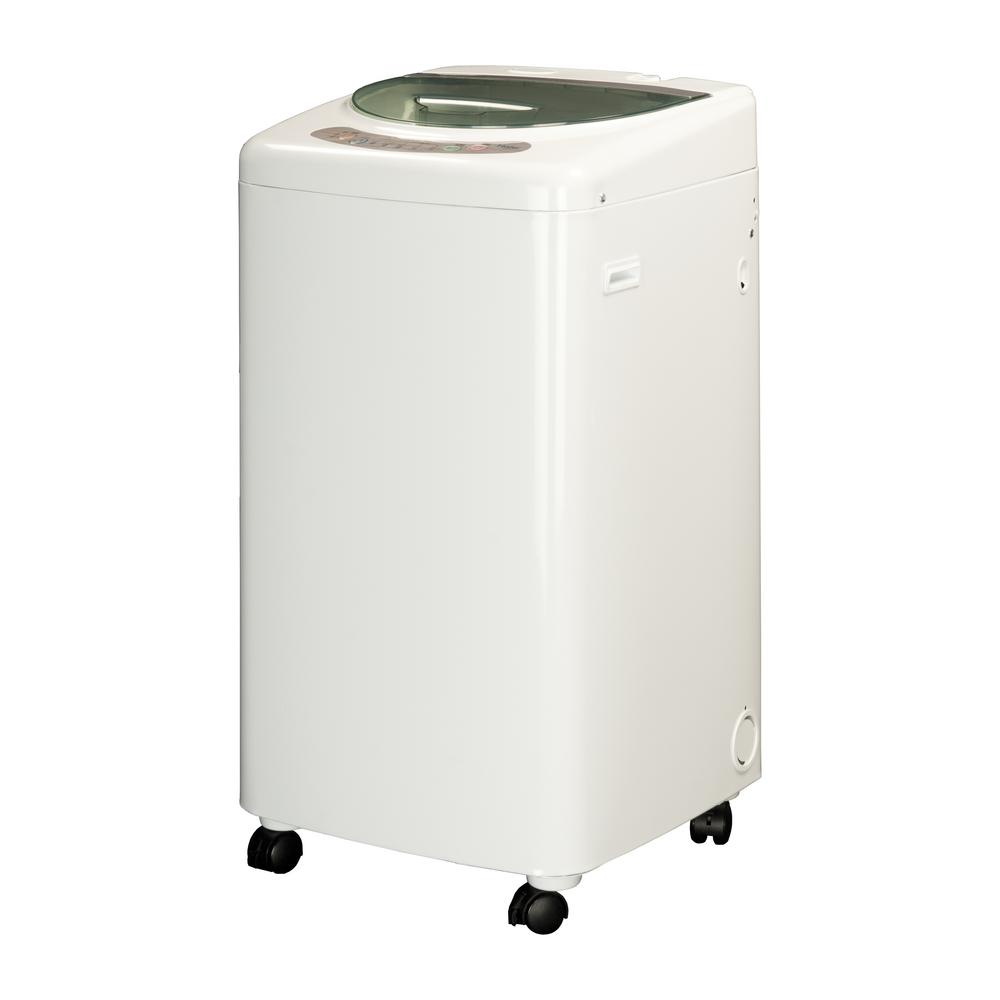 haier portable washing machine. haier 1.0 cu. ft. portable top load washer with stainless steel tub in white washing machine h