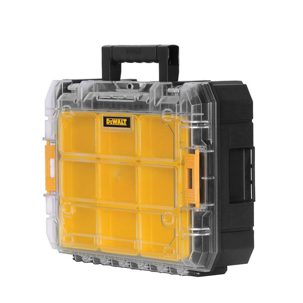 DEWALT TSTAK V 7 in. Stackable 9-Compartment Small Parts & Tool Storage Organizer