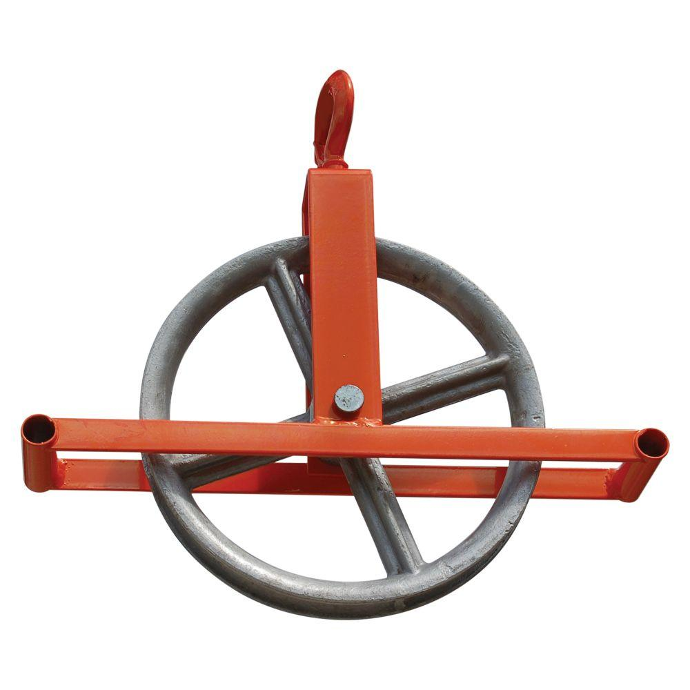 Roof Zone Hoisting Wheel With Hook 13801 The Home Depot