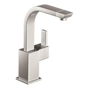Attractive 90 Degree Single Handle Bar Faucet In Spot Resist Stainless