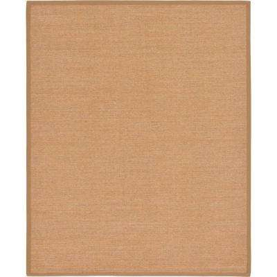 Sisal Sandy Light Brown 8' 0 x 10' 0 Area Rug