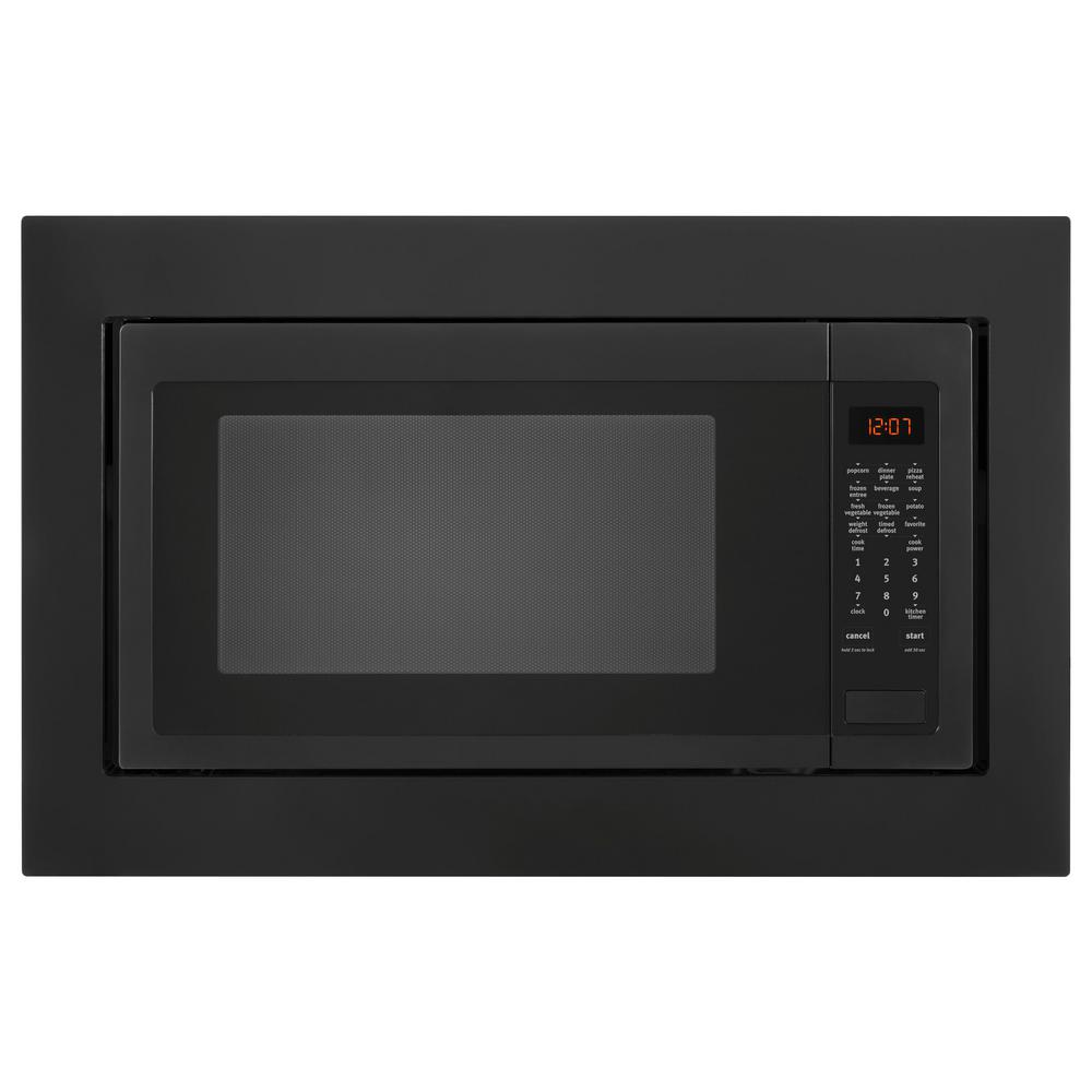 2.2 cu. ft. Countertop Microwave with Greater Capacity in Black
