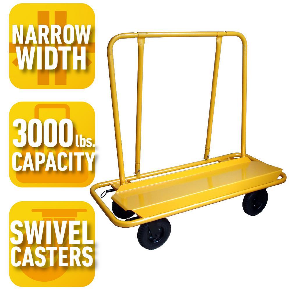 PRO-SERIES 3,000 lb. Capacity Drywall Cart