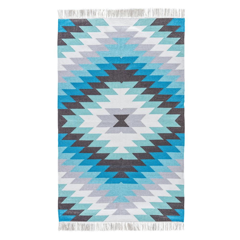 Niagara 8 ft. x 10 ft. Tribal Indoor/Outdoor Area Rug