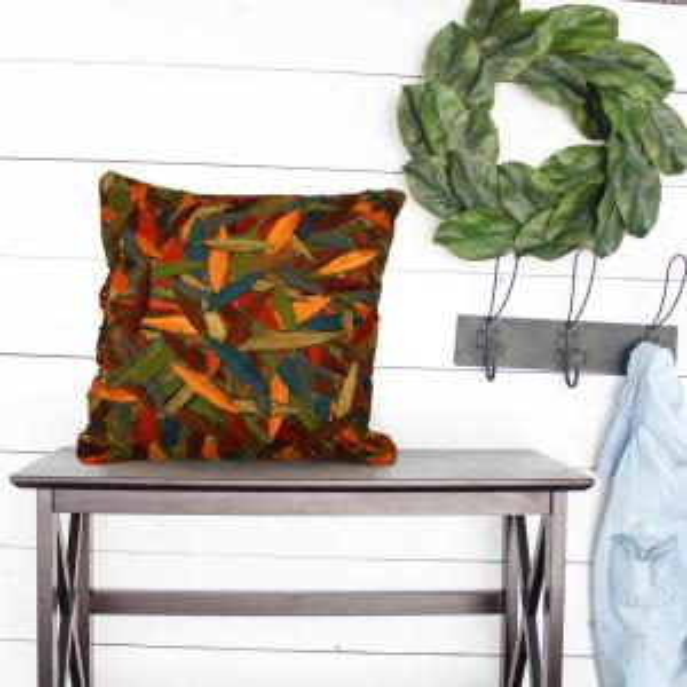 LR Resources Pillow-Primitive Zanthia 18 inch x 18 inch Square Decorative Pillow (2-Pack) by LR Resources