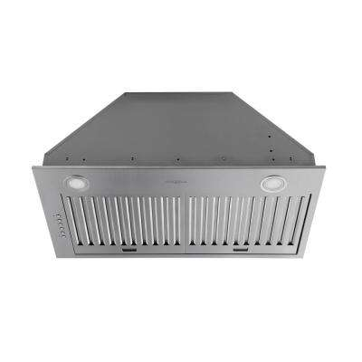 28 in. Ducted Built-In Range Hood with LED in Stainless Steel