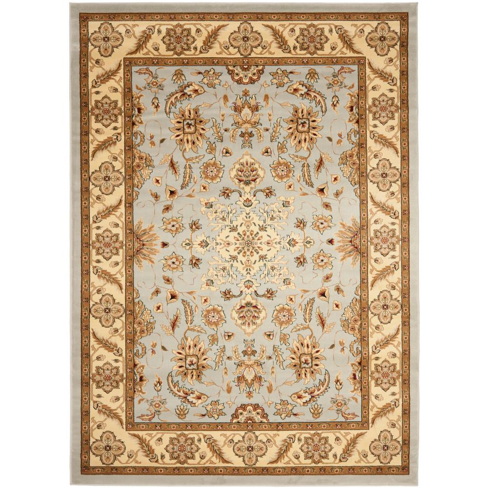 Lyndhurst Gray/Beige 6 ft. x 9 ft. Area Rug