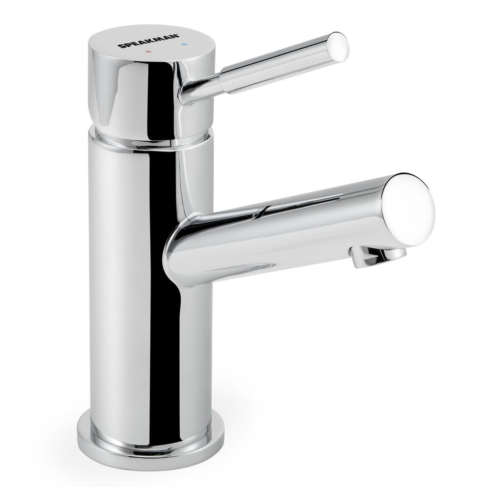 Neo Single Hole Single-Handle Bathroom Faucet with Drain Assembly in Polished
