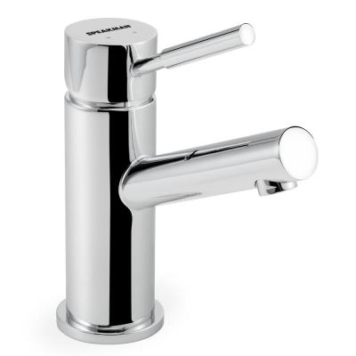 Neo Single Hole Single-Handle Bathroom Faucet with Drain Assembly in Polished Chrome