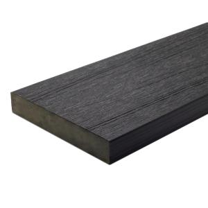 UltraShield Naturale Cortes Series 1 in. x 6 in. x 16 ft. Hawaiian Charcoal Solid Composite Decking Board (49-Pack)