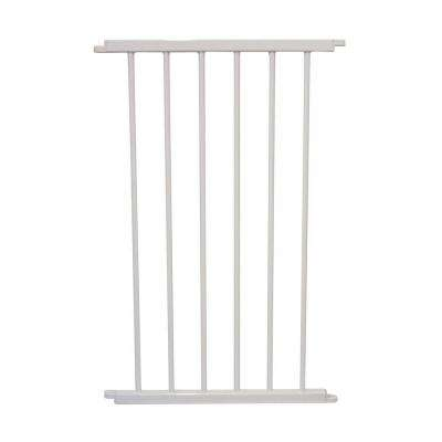 30.5 in. H x 20 in. W x 2 in. D Extension for the Versa Gate White