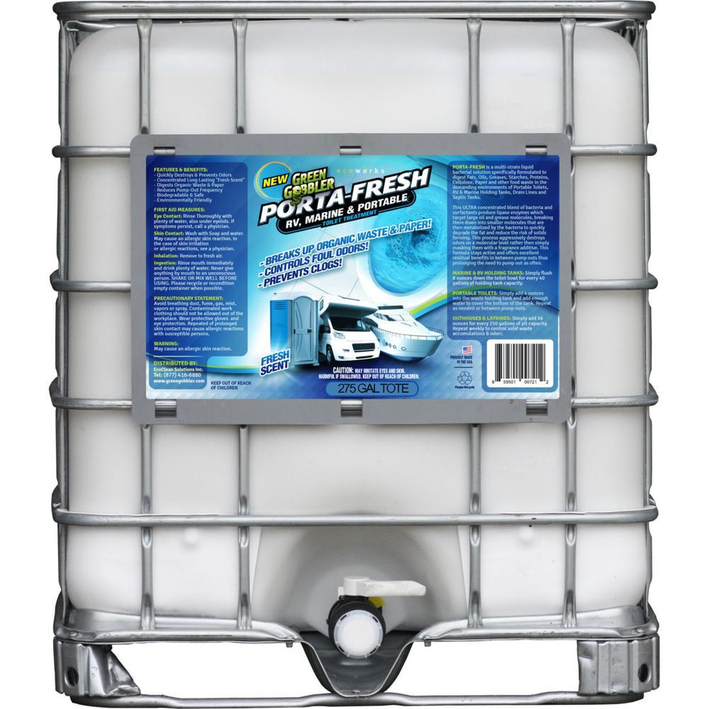 Eco Clean Green Gobbler 275  Gal. Tote  Porta Fresh