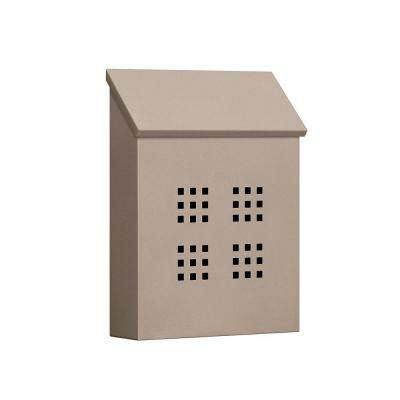 4600 Series Beige Decorative Vertical Traditional Mailbox