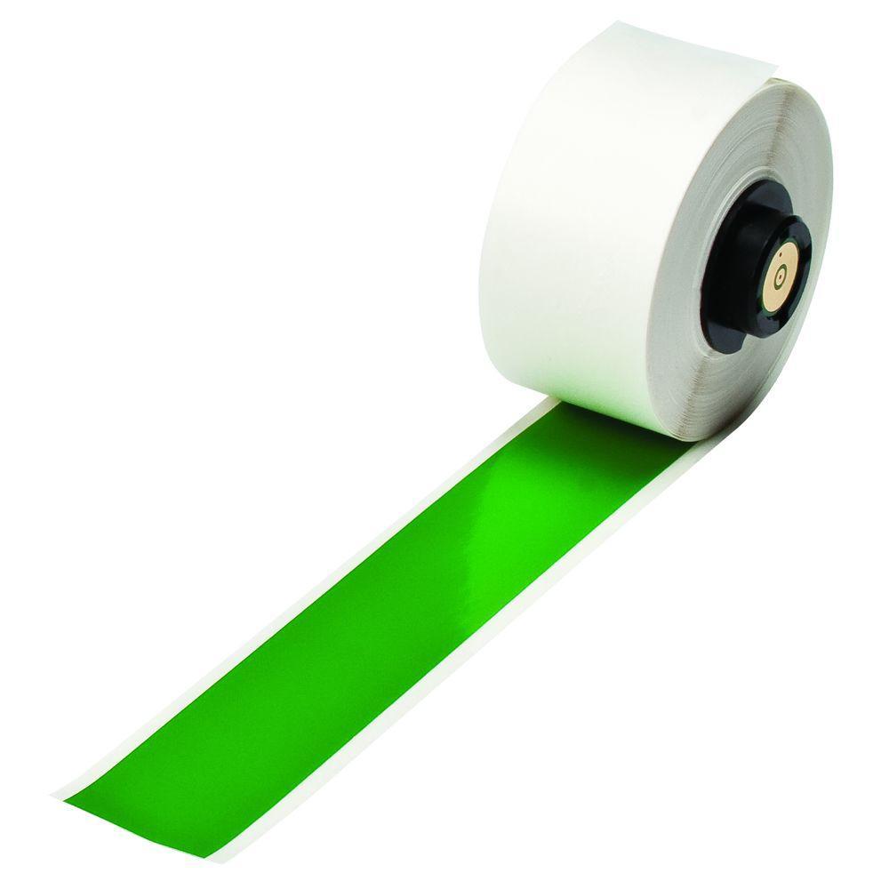 Brady Handimark 50 ft. x 1 in. Indoor/Outdoor Vinyl Green Tape