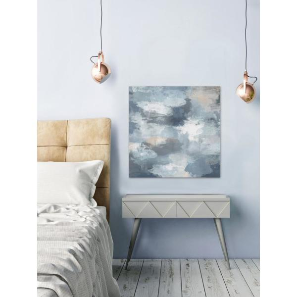 40 in. H x 40 in. W ''Beyond the Mist'' by Marmont Hill Canvas Wall Art