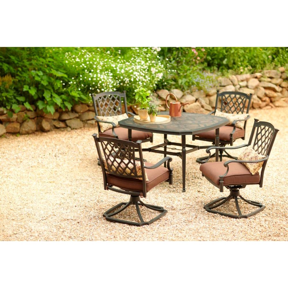 Martha Stewart Living Sea Bright 5-Piece Patio Dining Set-DISCONTINUED