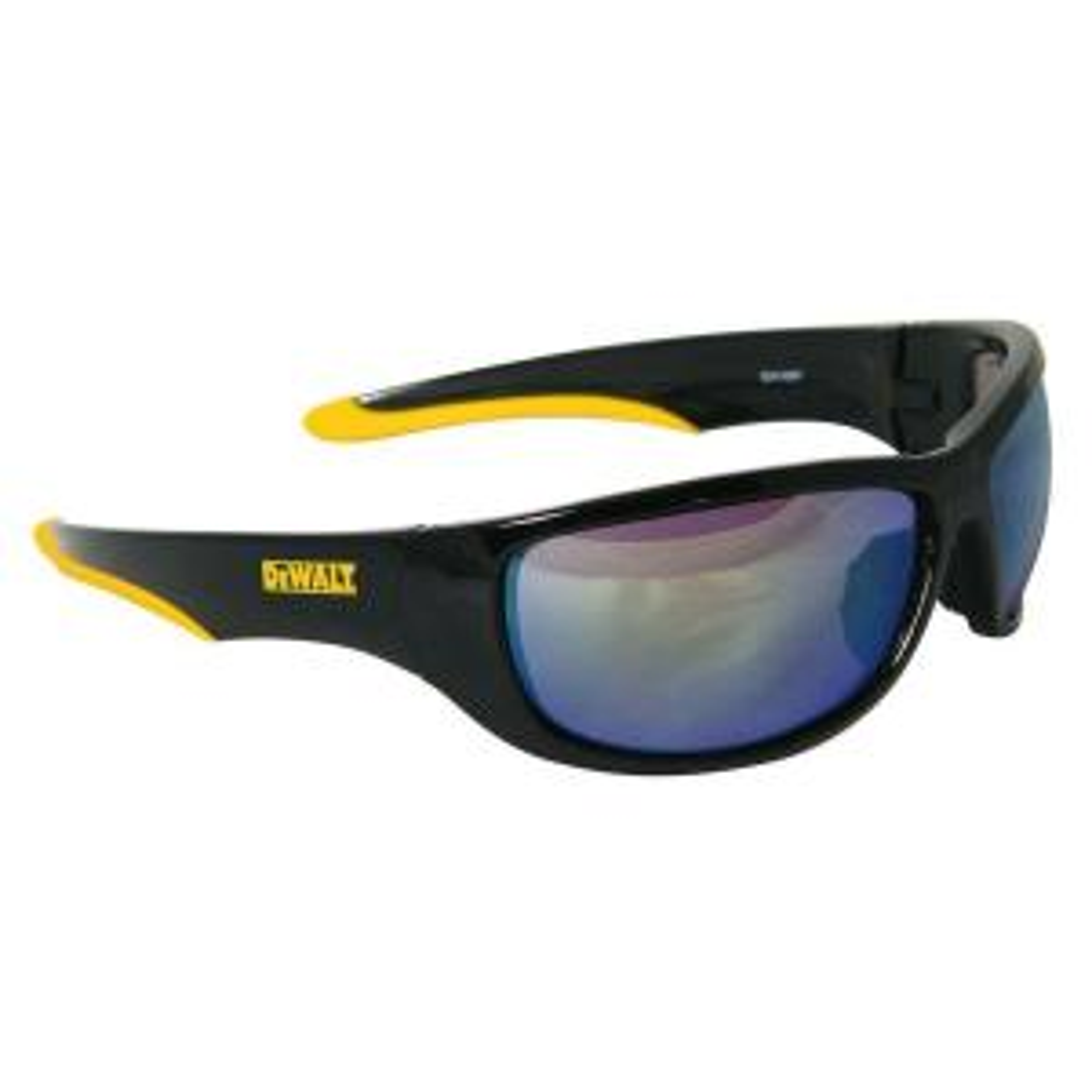 Dewalt Safety Glasses Dominator with Yellow Mirror Lens by DEWALT