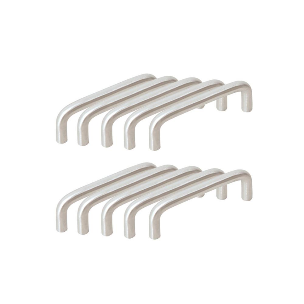 Center To Center Satin Nickel Wire Cabinet Pull Value Pack (10 Per Pack)