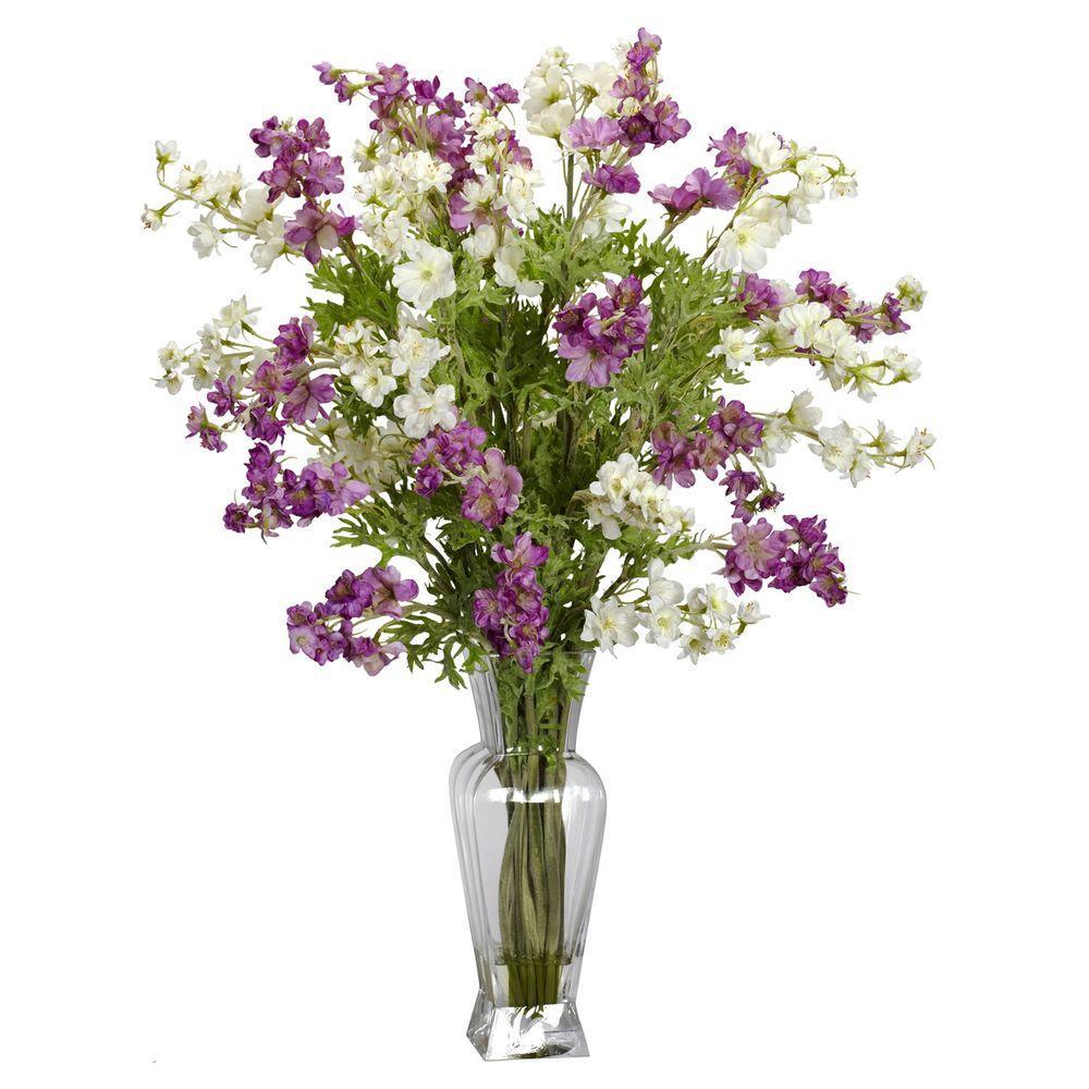 24 in. H Assorted Dancing Daisy Silk Flower Arrangement