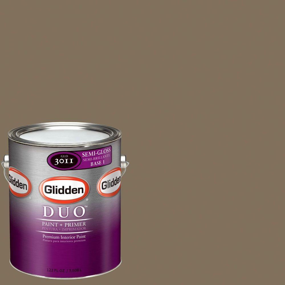 Glidden DUO Martha Stewart Living 1-gal. #MSL096-01S Flower Semi-Gloss Interior Paint with Primer - DISCONTINUED