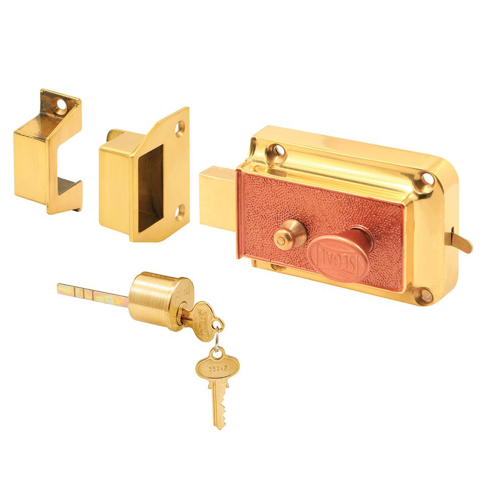 Prime Line Double Cylinder Painted Brass Jimmy Resistant