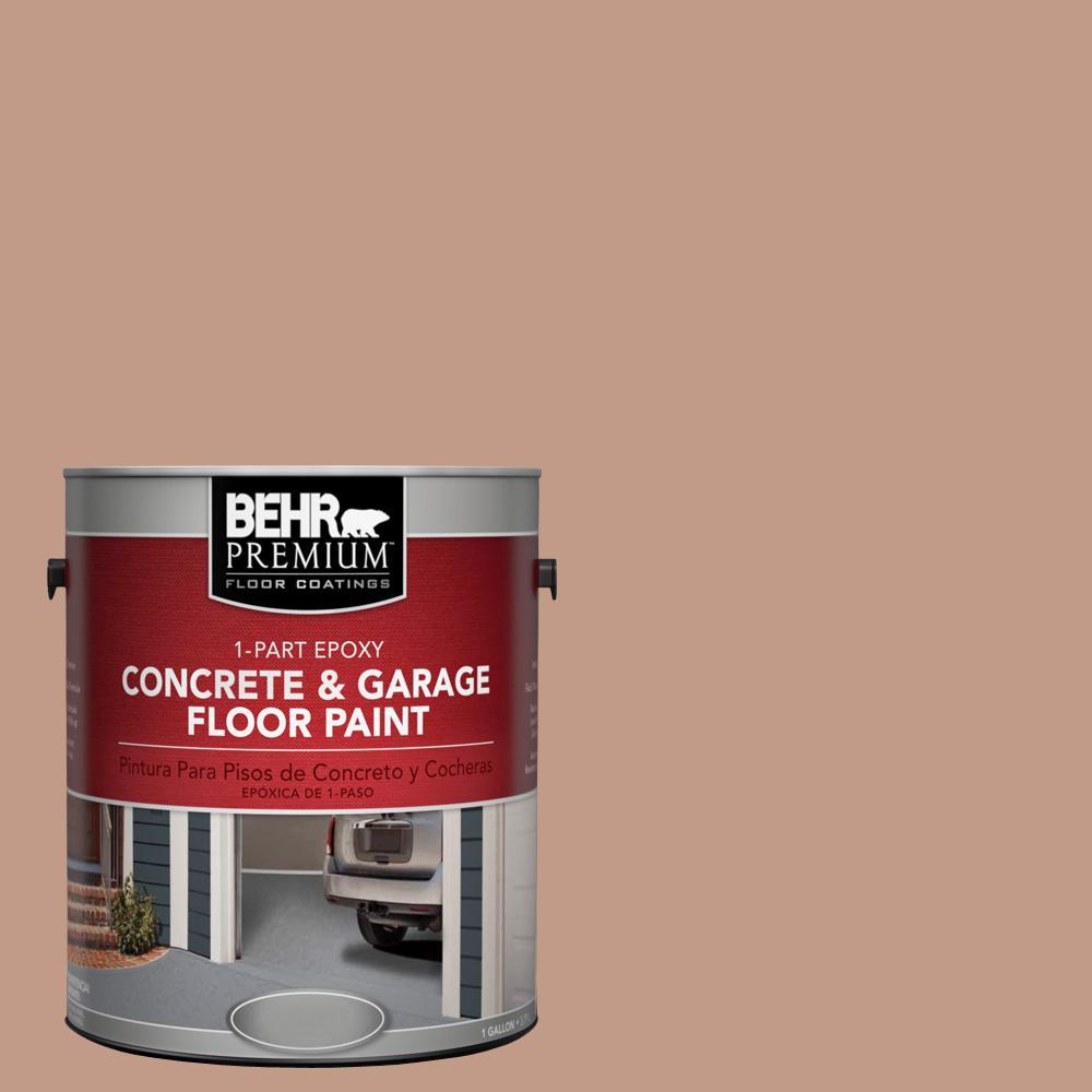 1 gal. #S200-4 Chestnut Bisque 1-Part Epoxy Concrete and Garage Floor Paint