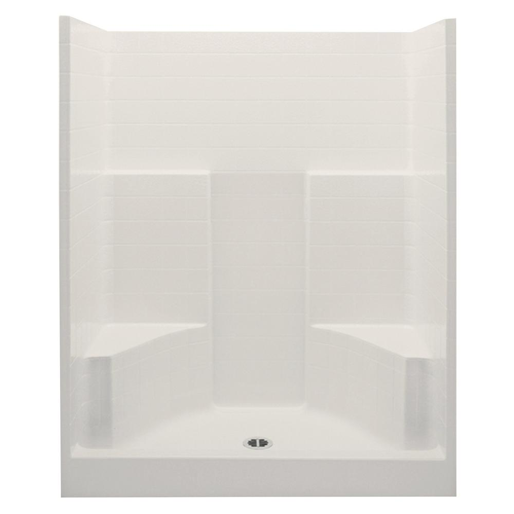 Everyday 60 in  x 35 in  x 72 in  Center Drain. Home Pet Spa 35 in  x 24 7 in  Pet Shower and Grooming Enclosure