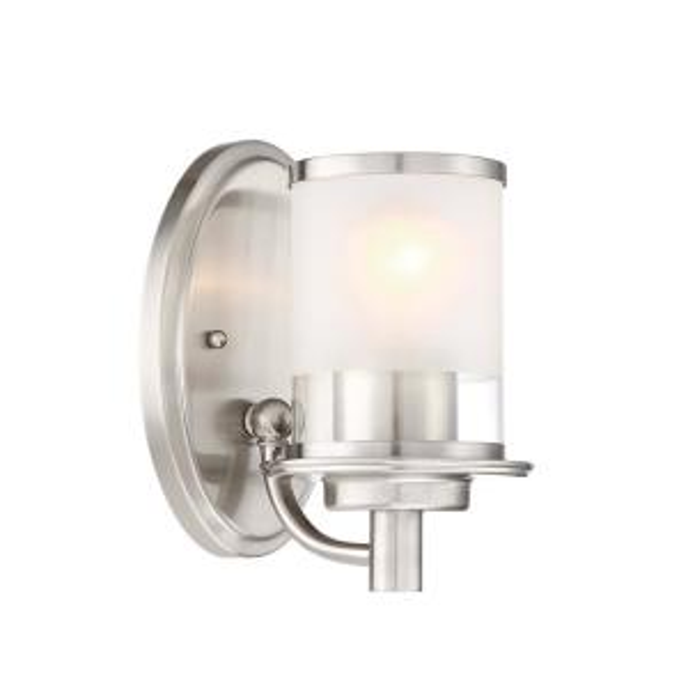 Essence 1-Light Satin Platinum Interior Wall Sconce