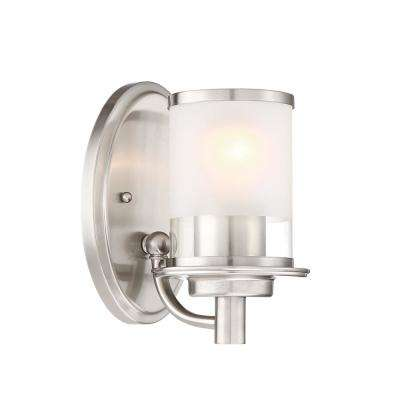 Essence 1-Light Satin Platinum Interior Wall Sconce