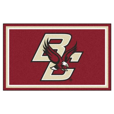 NCAA - Boston College Red 4 ft. x 6 ft. Area Rug