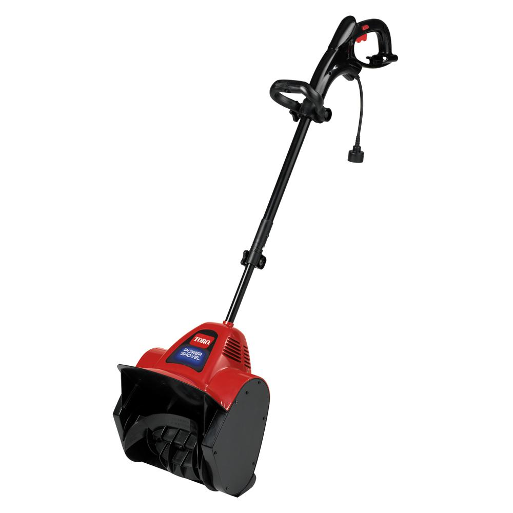 Toro Power Shovel 12 In 7 5 Amp Electric Snow Blower 38361 The Home Depot