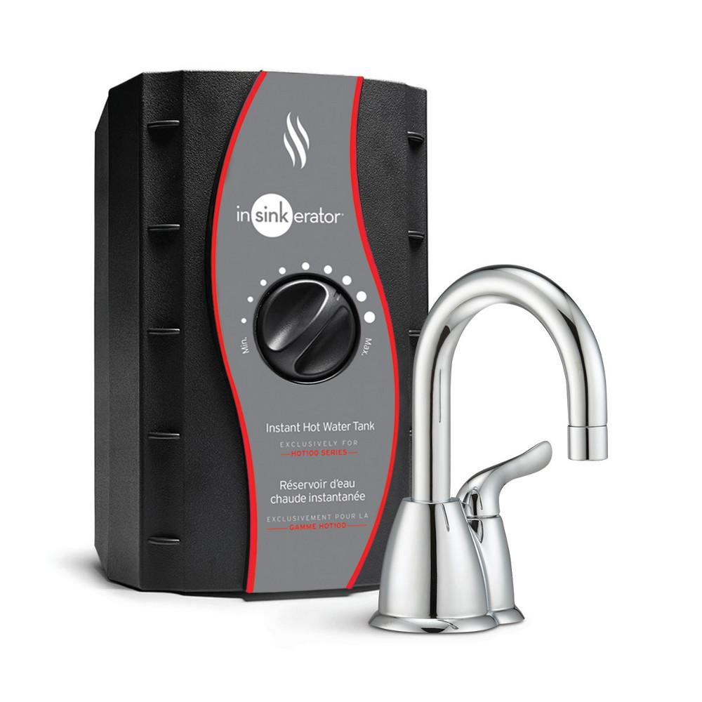 Invite HOT150 Single-Handle Instant Hot Water Dispenser Faucet with Hot Water
